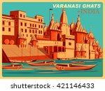 Vintage Poster Of Varanasi...
