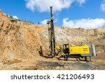 drilling machine | Shutterstock . vector #421206493