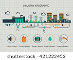 infographic template.  the... | Shutterstock .eps vector #421222453