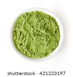 Bowl Of Wheat Or Barley Grass...