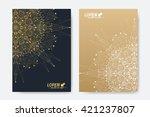 modern vector template for... | Shutterstock .eps vector #421237807