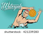 summer kinds of sports. water... | Shutterstock .eps vector #421239283