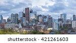 toronto  canada   may 15  2016  ... | Shutterstock . vector #421261603