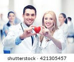 healthcare and medical concept  ... | Shutterstock . vector #421305457