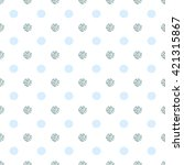 polka dot seamless pattern....   Shutterstock .eps vector #421315867