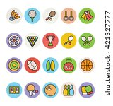 sports vector icons 1 | Shutterstock .eps vector #421327777