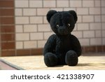 Soft Toy Of The Black Bear....