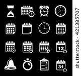 event icons   Shutterstock .eps vector #421385707
