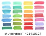 color  highlight  stripes ... | Shutterstock .eps vector #421410127