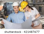 engineer. | Shutterstock . vector #421487677