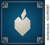 tangram apple. traditional...   Shutterstock .eps vector #421490587