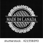 made in canada written with... | Shutterstock .eps vector #421558393