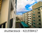 background of the modern...   Shutterstock . vector #421558417