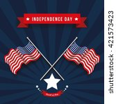 usa independence day | Shutterstock .eps vector #421573423