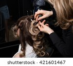master stylist makes the bride