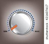 volume control | Shutterstock .eps vector #421607617