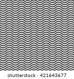 linear waves   Shutterstock . vector #421643677
