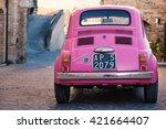altidona  italy   february 20 ... | Shutterstock . vector #421664407