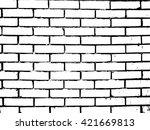 brick texture effect.grunge... | Shutterstock .eps vector #421669813