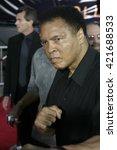 Muhammad Ali At The Los Angele...