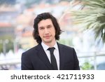 adam driver attends the ... | Shutterstock . vector #421711933