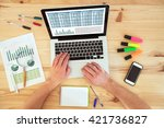accounting and financial... | Shutterstock . vector #421736827