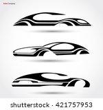 auto company logo vector design ...   Shutterstock .eps vector #421757953