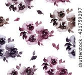 seamless floral pattern....   Shutterstock . vector #421759297