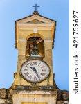 Bell Tower Of Catholic Church...