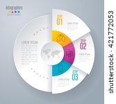 infographic design vector and... | Shutterstock .eps vector #421772053