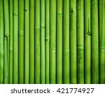 Green Bamboo Fence Texture ...