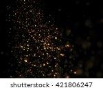 abstract gold glitter explosion ...   Shutterstock . vector #421806247