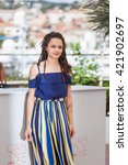 Small photo of Cannes, France - 15 MAY 2016 - Actress Sasha Lane attends the 'American Honey' photocall during the 69th annual Cannes Film Festival