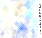 abstract colorful pixel... | Shutterstock . vector #421961467