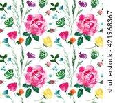 flowers | Shutterstock . vector #421968367