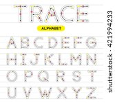 a z rounded uppercase trace...