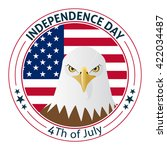 independence day background | Shutterstock .eps vector #422034487