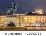 Lyon Place Bellecour Statue Of...
