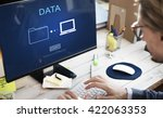 Small photo of Data Database Analysis System Information Concept