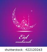illustration of ramadan ... | Shutterstock .eps vector #422120263