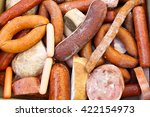 tainted meat products. stale... | Shutterstock . vector #422154973