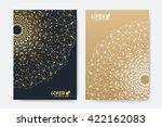 modern vector template for... | Shutterstock .eps vector #422162083