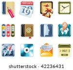 vector universal square icons....