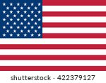 flag of the united states of... | Shutterstock .eps vector #422379127