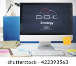 strategy tactics vision... | Shutterstock . vector #422393563