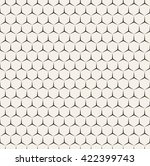vector seamless pattern. modern ...   Shutterstock .eps vector #422399743
