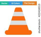 flat design icon of traffic...