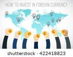 international business. foreign ...   Shutterstock .eps vector #422418823
