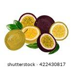 passion fruit | Shutterstock .eps vector #422430817
