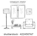 sketchy color illustration of... | Shutterstock .eps vector #422450767